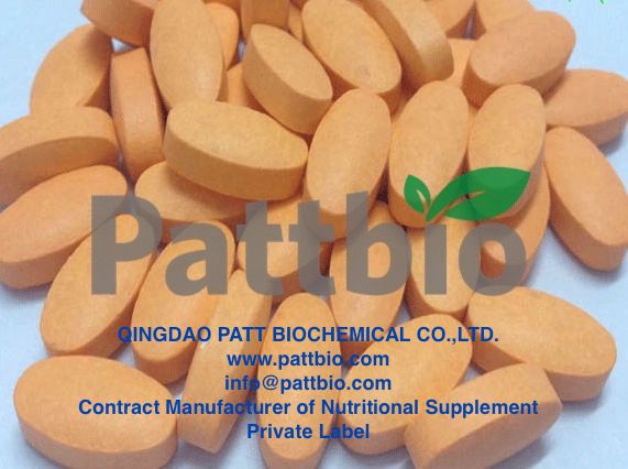 Glutathione Tablet 1000mg,Ingredient:Glutathione Excipient:Sucrose, Tale, Silicon Oxide, Croscamellose Sodium, Shellac, Hydropropyl Methylcelluse, Starch, Magnesium stearate, Calcium carbonate.Contract Manufactured by Qingdao Patt Biochemical Co.,Ltd.www.pattbio.com,info@pattbio.com