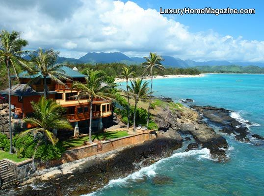 Luxury Home in Hawaii. This is the definition of Luxury!! #Ocean #View #HomeSmart #ashleyredmond