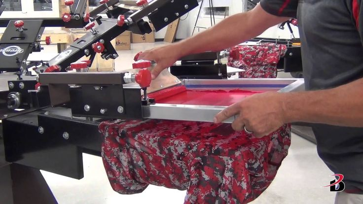 Printing on Badger Sport sublimated garments - YouTube