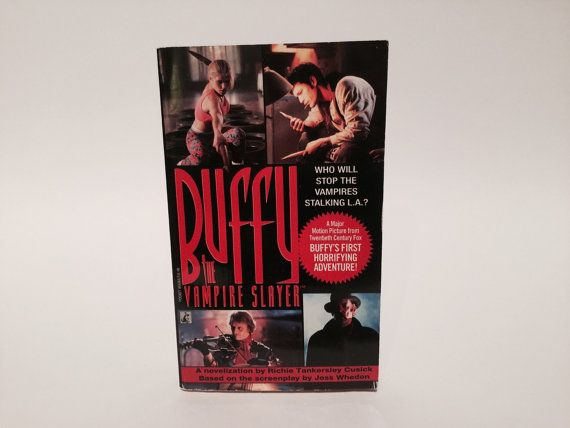 Hey, I found this really awesome Etsy listing at https://www.etsy.com/listing/198217164/vintage-book-buffy-the-vampire-slayer