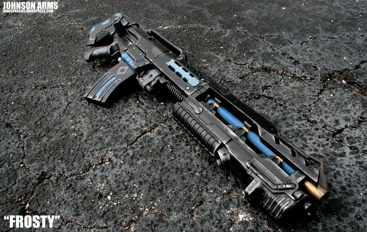 Mr. Frosty - Custom Nerf Longshot Photo 2 by JohnsonArms.deviantart.com on @deviantART
