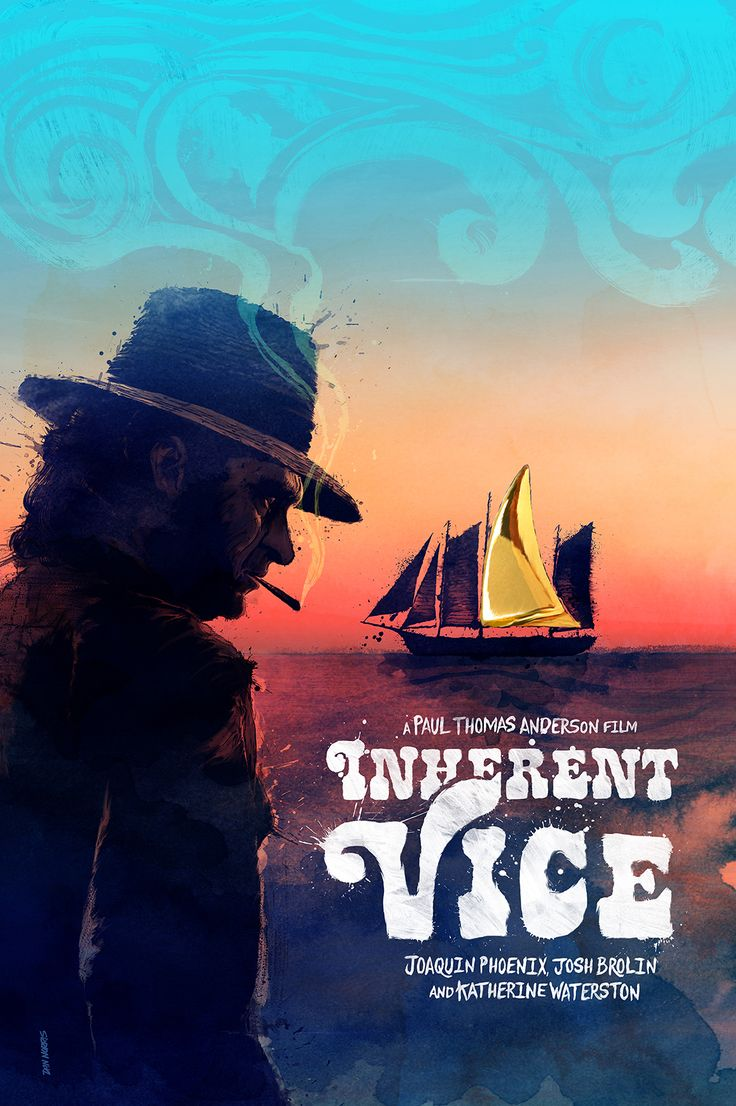 Inherent Vice - movie poster - Daniel Norris