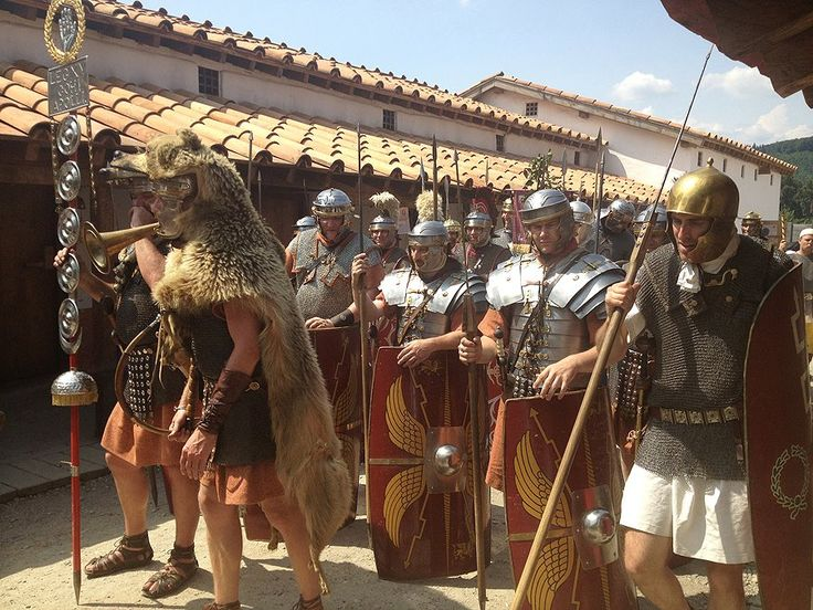The Roman legion's version of Fleet Week... when the troops come to town looking for a good time.