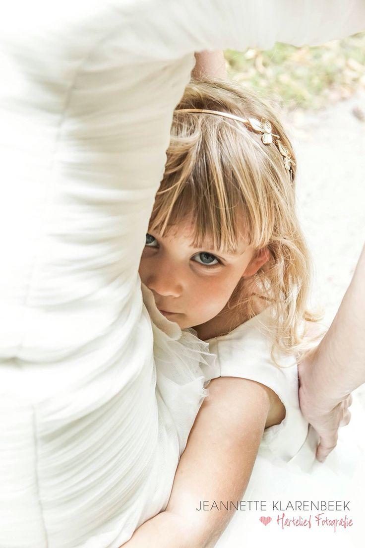 Bruidsmeisje lief met bruid