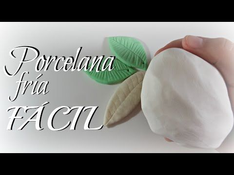 Cómo hacer porcelana fría FÁCIL Y ECONÓMICA   Mundo@Party - YouTube