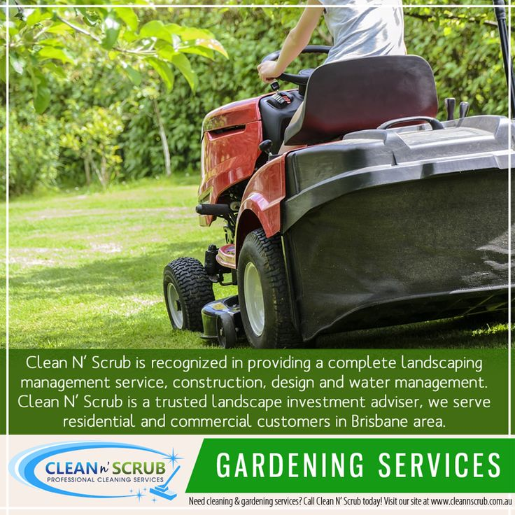 Clean N' Scrub also providing a service for waste removal whether it is small or a huge debris, at your home, office, industry, building sites and factories.  Our gardening services include the following;  - Pruning, Trimming, Small Tree & Shrub removal - Landscaping - Hedge trimming, Mowing and maintenance - Turfing, weeding and mulching - General garden clean up - Whipper snipping  Visit our website at www.CleanNScrub.com.au to view our services.