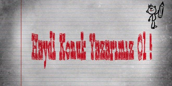 www.ozancorumlu.com 'da konuk yazar olmak için....