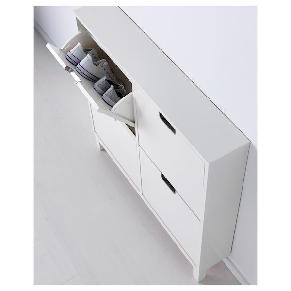Stall Skoskap 4 Fack Vit 96x90 Cm Ikea Moveis De Entrada Sapateiras Produtos Ikea