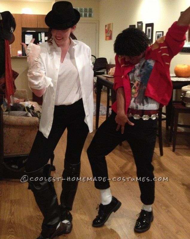 Black and White Michael Jackson Costume ... This website is the Pinterest of costumes