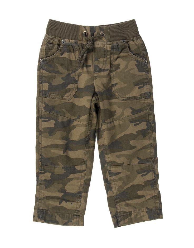 Camo Lined Pants