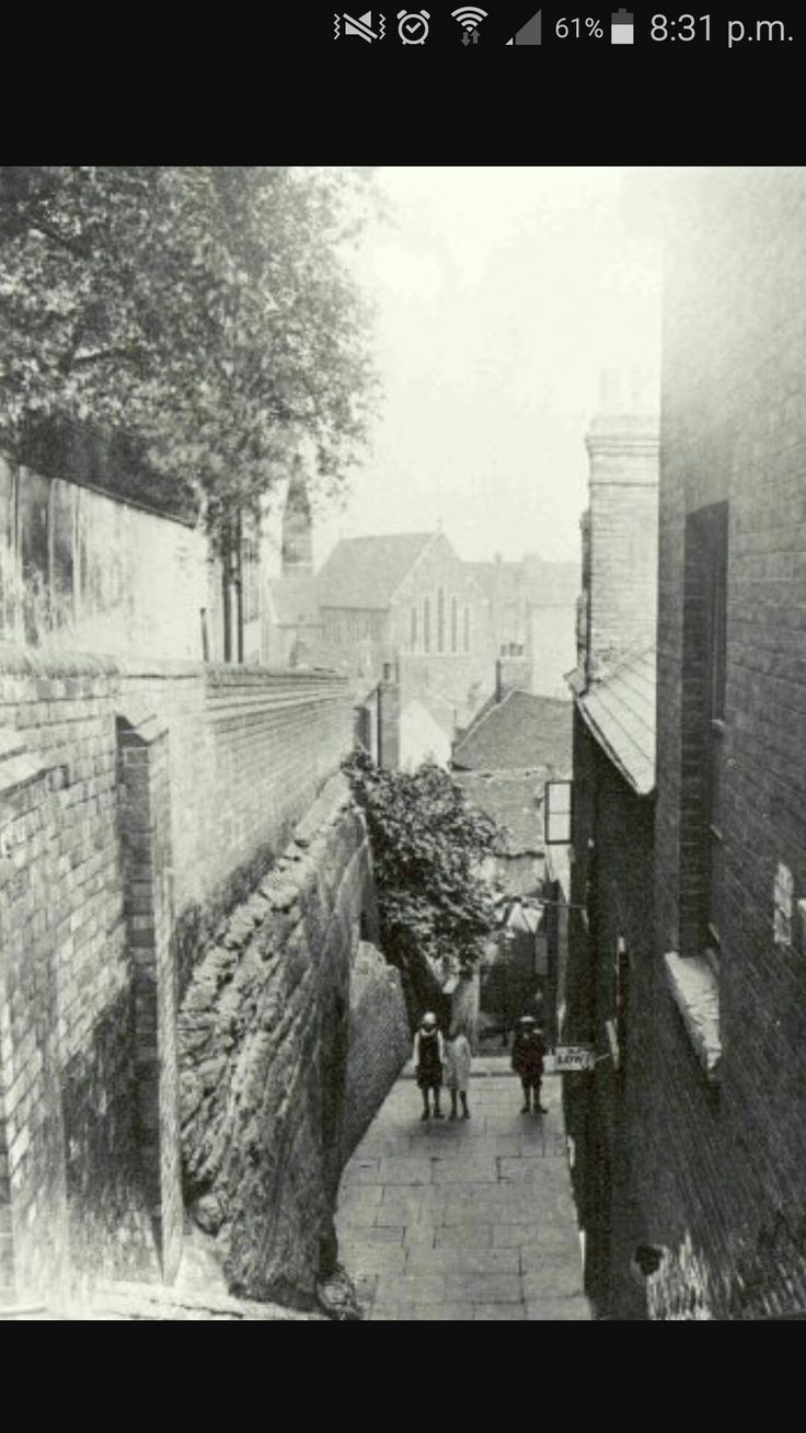 Long Stairs Nottingham
