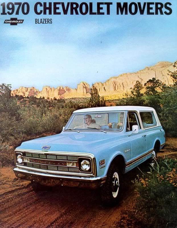 1970 Chevy Blazer