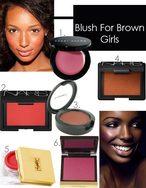 Worry no more! We've rounded up the best blush colors for women of color!  #Makeuptips #Makeuptipsandtricks #Beautytips #Beautytricks
