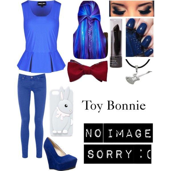 FNaF2- Toy Bonnie - Polyvore