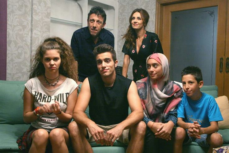 Cast of #TAMAM on the Greek network ANT1