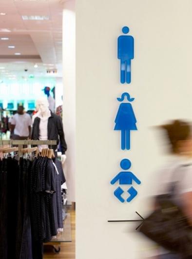 Designspiration — Oxford Street store wayfinding & signage | Cartlidge Levene