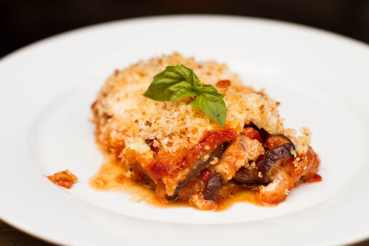 Ridiculously Good Baked Eggplant Parm // Lick My Spoon