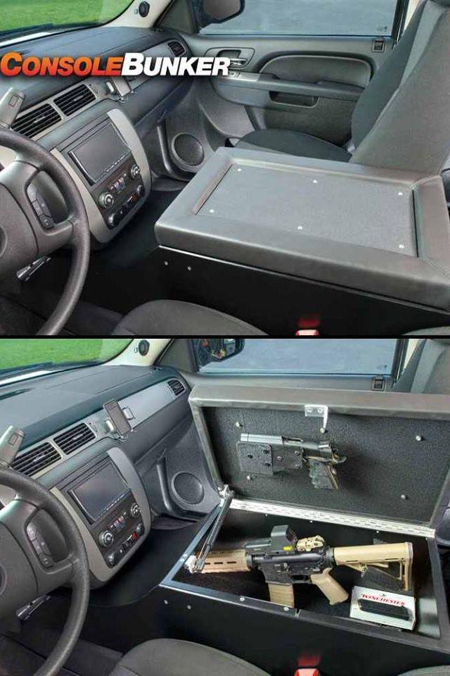 Console Bronco Ideas Vehicles Gun Storage Weapon Storage