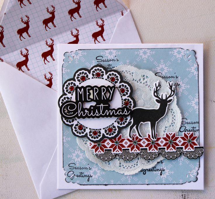 Kaisercraft North Pole - Merry Christmas Card