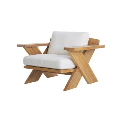 Summit X Collection Lounge Chair With Seat And Back Cushions