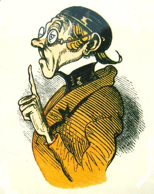 Lehrer Lämpel von Wilhelm Busch