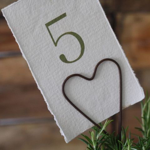 the wedding of my dreams rustic heart table number holder wedding theweddingofmydreams
