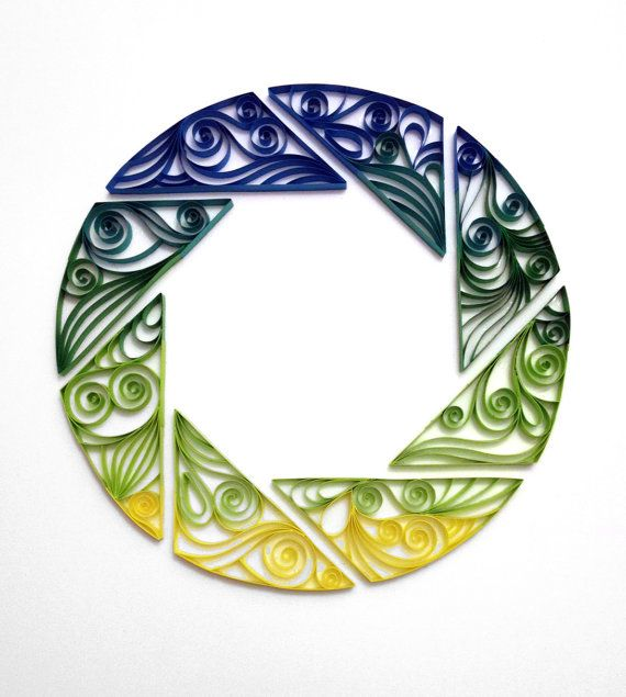 Quilled gaming artPortal Aperture by AliaDesign on Etsy, $200.00