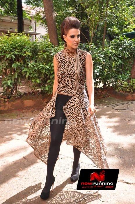 Neha Dhupia at Blenders Pride Fashion tour preview