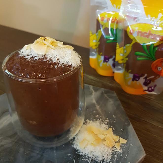 LCHF Bounty Chia Seed Pudding