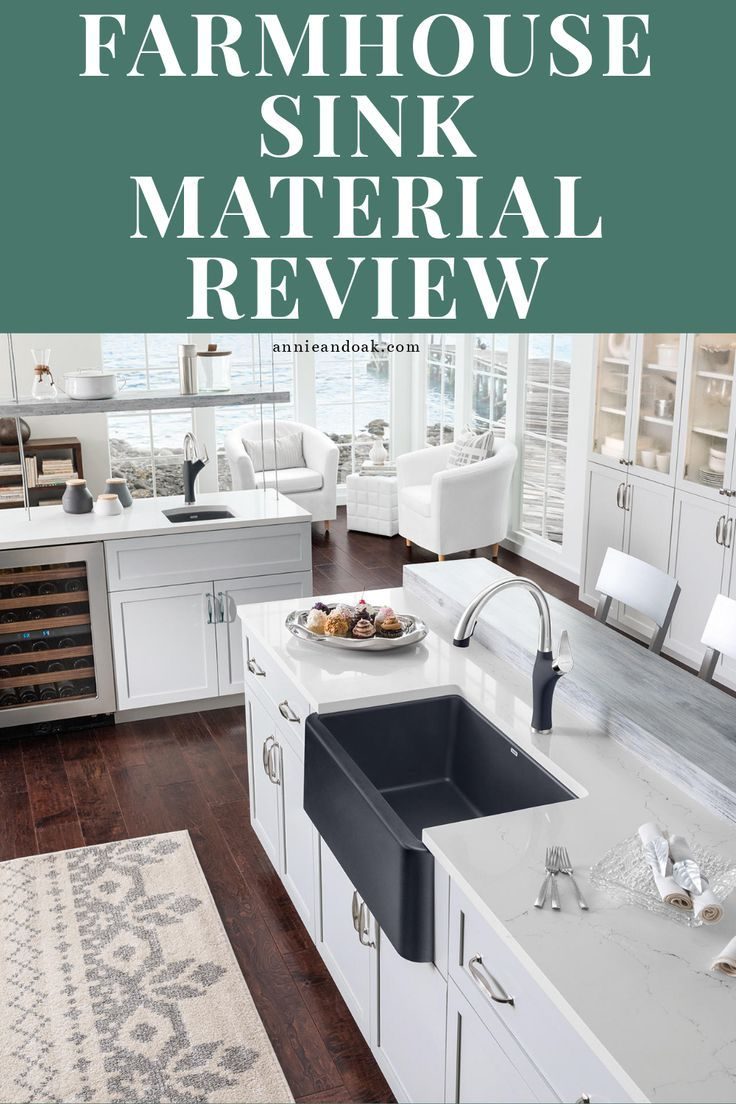 Best Farmhouse Sink 1 Expert Pick Material Guide 2019 Review Farmhouse Style Kitchen Kitchen Design Cast Iron Farmhouse Sink