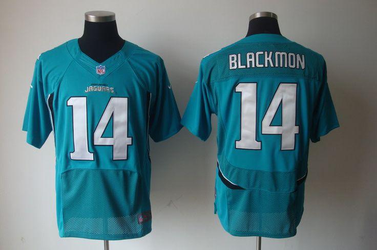 $25.00 Nike NFL Jerseys Jacksonville Jaguars Justin Blackmon #14 Blue