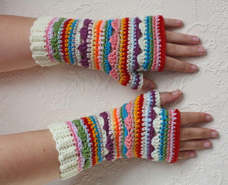 Ravelry: natemmab's Boho Fingerless Gloves 2