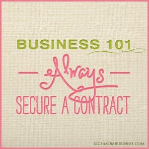 Tutorial for Creating a Stay at Home Business Contract. Go to http://richmombusiness.com to see the full tutorial. You'll also find freebies, discounts and ideas for stay at home mom businesses. Then, head over to our You Tube channel to find free video tutorials for stay at home mom businesses as well.
