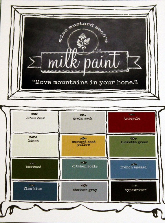 Arizona AZ Shop On Milkpaintretailers For Miss Mustard Seeds Milk Paint We Have All 12 To Choose From Or You Can Get 6 Pack Bundle Set