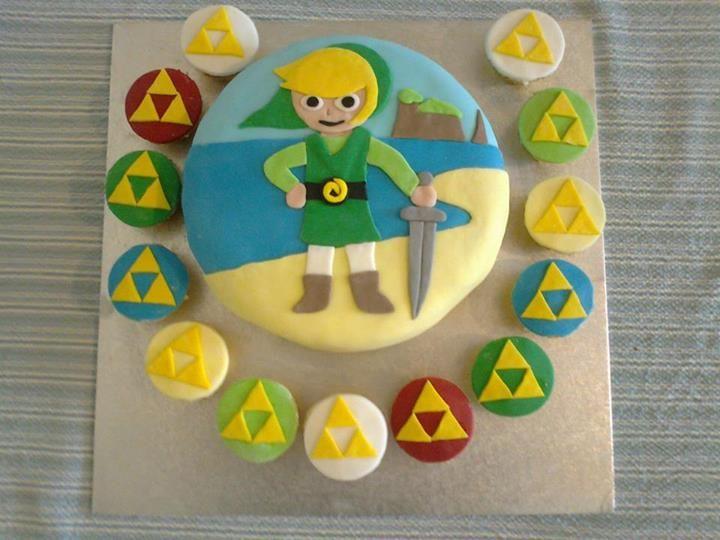 zelda themed cakes | Re: Girlfriend made me a Zelda cake
