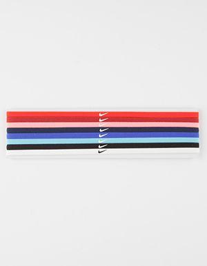 NIKE Skinny Hairbands 8 Pack Multi