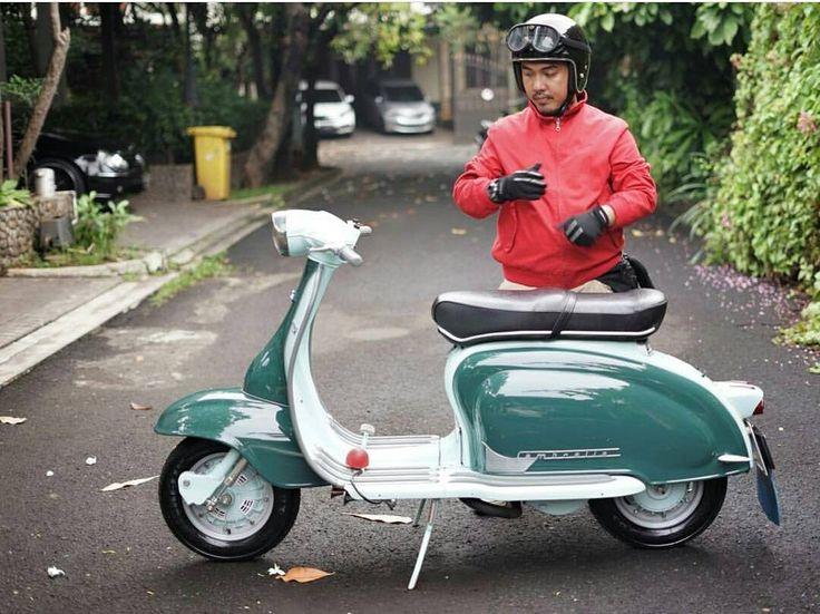 Lambretta to Work... Lets go 💨 💨 💨    #LambrettaClubIndonesia  #Lambretta  #LambrettaIndonesia