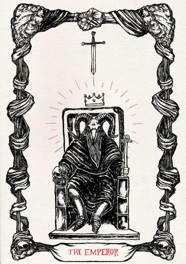 UPDATE: All Of The Tarot Cards I've Illustrated So Far