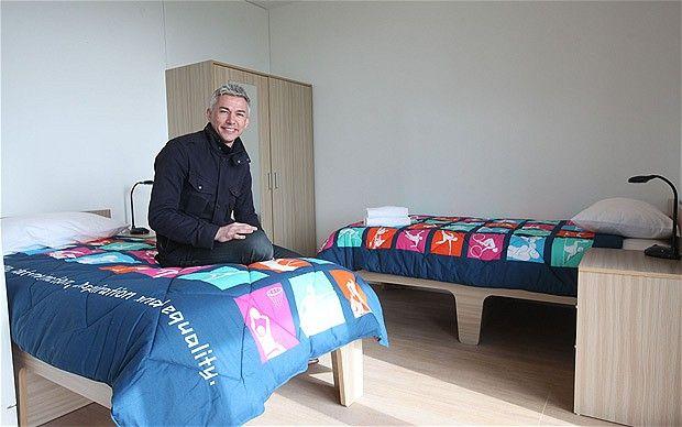 Las habitaciones de los atletas en la Villa Olímpica de Londres 2012 // Athletes room at London 2012's Olympic Park