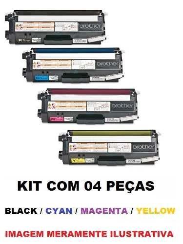 kit cartucho toner compativel brother tn315/310 c/ 04 peças