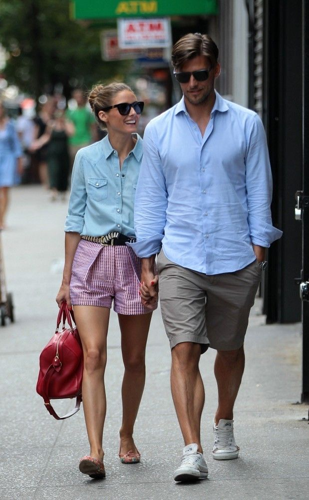 : Olivia Palermo and Johannes Huebl Out in NYC