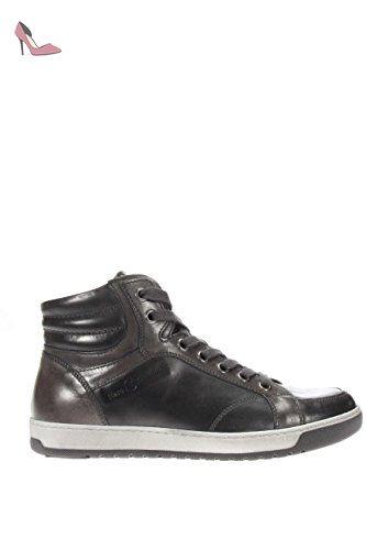 FRAU DONNA , Chaussures de ville à lacets pour femme Noir Nero - Noir - Nero, 39 EU