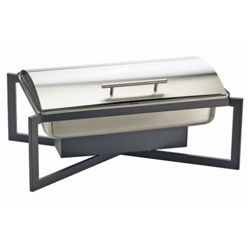 One by One Black Chafer Item: 3321-13 Focus on what's really important in your presentation, the actual product! The One by One Black Chafer allows you to keep your food warm while not taking away from the importance of the savory flavor you've worked so hard to achieve.