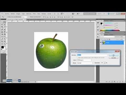 Como quitar fondo blanco en Photoshop - Tutorial de Photoshop - YouTube