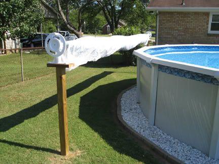 DIY rack pool cover