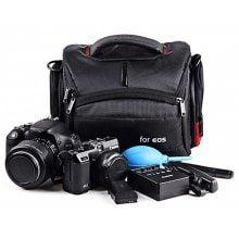 Durable Single-shoulder Camera Bag for Nikon / Canon SLR Camera