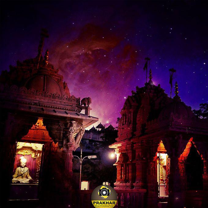 Incredible India - Google+ - Evening of Swaminarayan Tample - Atladra - Vadodara …