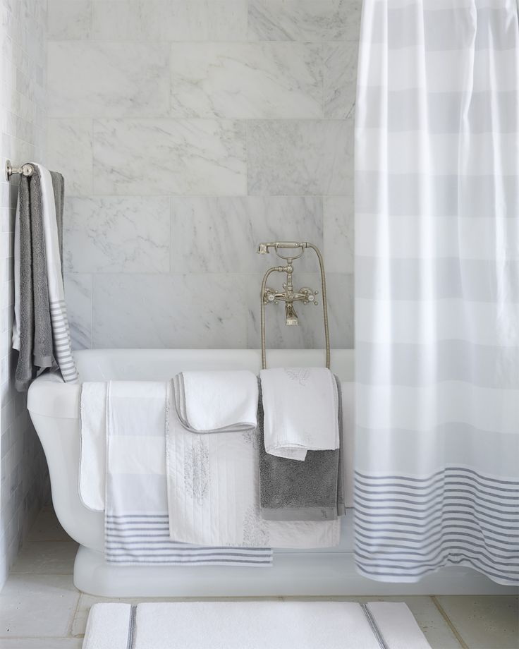 e509a3a0df No bathroom is complete without a beautiful bath collection. Our Turkish  inspired towels have bold stripes that give a pop of color.