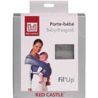 Red Castle Echarpe Porte Bébé Fil UP, S/M Gris