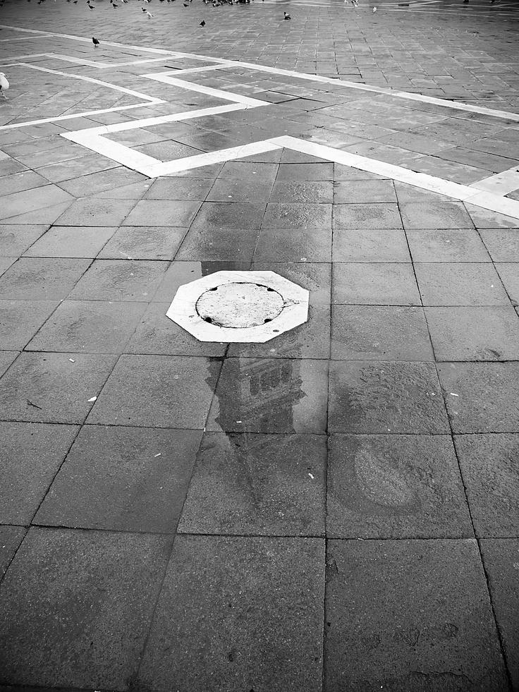 Zrcadlení * benátská zvonice Kampanila